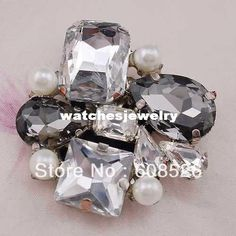 Wholesale Brooches - Buy  -Fashion Vintage Rhinestone Crystal Shoe Clip on Buckle/ Brooch Pin Wholesale/retail High Quality Ornament, $8.5 |...