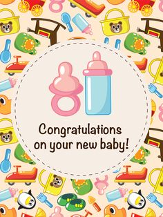 WOW! New Baby Shower Cards in our App! Enjoy! bdaycards.com