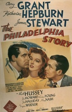 The Philadelphia Story. One of my favorites. #katherinehepburn