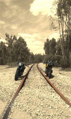 Bike handled like it was on rails.