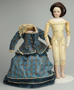 Exquisite French Fashion Lady Doll. - by Morphy Auctions