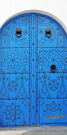 Wasn't quite sure where this amazing #door should be pinned, but didn't want to forget it RT Tunisia