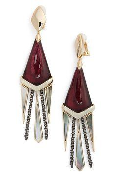 Alexis Bittar Chandelier Drop Earrings // great modern accessories from…