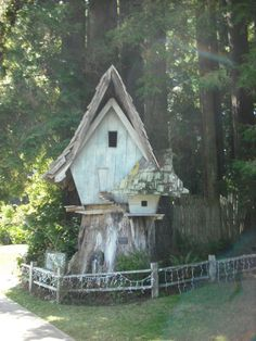 Fairy House at Sequoia Park Zoo in Eureka, CA