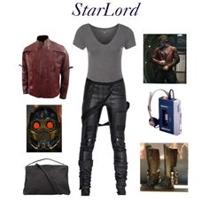 Feminine take on Star Lord's outfit! Marvel Inspired Outfits, Disney Inspired Fashion, Character Inspired Outfits, Disney Fashion, Marvel Fashion, Geek Fashion, Casual Cosplay, Cosplay Outfits, Cosplay Ideas