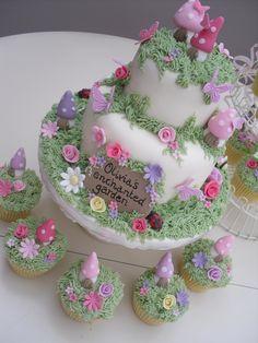 https://flic.kr/p/7RqNGb | Premium Range | Enchanted Garden Premium Range Katie's Cupcakes 07826 349138
