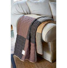 Aspen House Patchwork Throw 180x130 - Rivièra Maison #rivieramaison #home #living #styling #homedeco #interior
