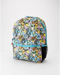 Eevee Evolution Pokemon Backpack - Spencer's
