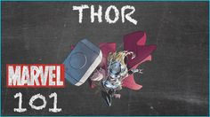 If She Be Worthy - Thor, Jane Foster - MARVEL 101 - Watch the video --> http://www.comics2film.com/marvel/if-she-be-worthy-thor-jane-foster-marvel-101/  #Marvel