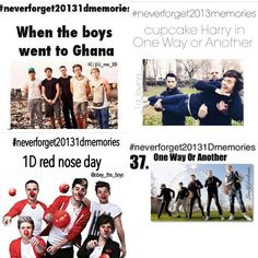 #neverforget20131dmemories Ghana, OWOA and Red Nose Day!