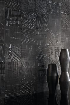 Porcelain stoneware wall/floor tiles L'H - LACCA NERO by Viva by Emilgroup