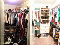 DIY closet {becomingfab.com}