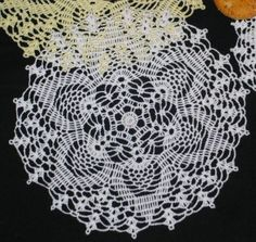 Advanced Embroidery Designs - FSL Crochet Tuscan Doily
