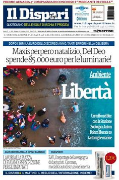 La copertina del 22 ottobre 2016 #ischia #ildispari
