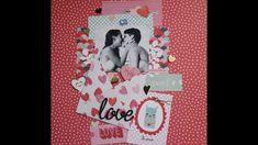 LO proces video  Tutorial lay out de San Valentín