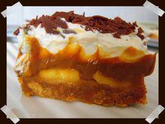 Banoffee pie (Tarta de platano y dulce de leche)