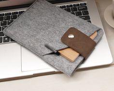 iPadmini Case, iPadmini Sleeve and iPad mini Case and Wallet Leather and felt-- 301B