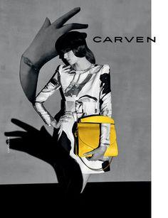 カルヴェン、ヴィヴィアン・サッセンが撮る最新広告はモノトーン | Fashionsnap.com