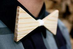Wood bow tie - 13 Creative Bow Ties - Oddee.com