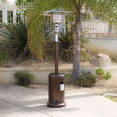 #Bonanza #Outdoor #Patio #Steel #Heater #Propane #Lp #Gas #Standing #Deck #Garden #Portable