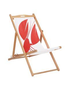 Buy John Lewis Coastal Lobster Deckchair Sling & House by John Lewis Deck Chair Frame from our Garden Seating range at John Lewis & Partners. Garden Furniture, Outdoor Furniture, British Seaside, Outdoor Chairs, Outdoor Decor, Garden Seating, Decoration, John Lewis, Coastal