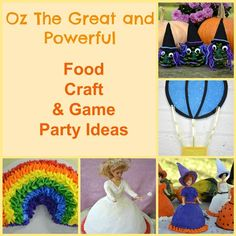 10 Food, Craft and Game Ideas For an Oz the Great and Powerful Party