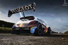 Peugeot 208 T16 Pikes Peak #1, Arian Shamil on ArtStation at https://www.artstation.com/artwork/xNWdR
