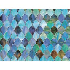 Brewster 47 in. x 24 in. Peacock Premium Window Film