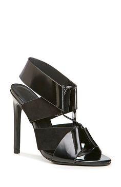Keepsake Lilian Lace Up Heels in Black