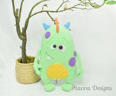 Cute Monster Kuboo amigurumi pattern - Amigurumipatterns.net
