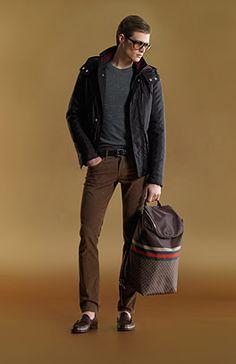 Gucci men. Want this bag!!!