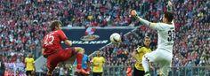 Roman Bürki gegen Thomas Müller - das 1:0- Spitzenspiel Bundesliga 2015/16: Bayern München - Bor.Dortmund 5:1- 8.Spieltag- Bayern 7 Punkte vorn