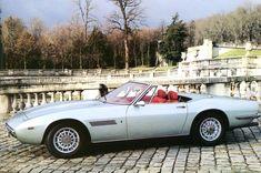 "1968 Maserati Ghibli spyder - Ghia ""Giugiaro"""