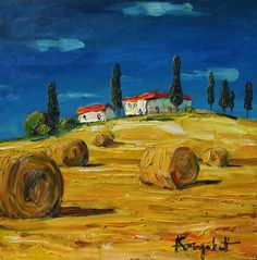 italian landscape inches oil on canvas Art And Illustration, Foreground Middleground Background, Victor Brauner, Landscape Paintings, Landscapes, Drawing Reference Poses, Art Google, Impressionist, Art Lessons