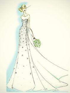 La Reine des Neiges inspire une robe de mariée complètement givrée