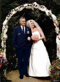 #Stargate Sam Carter and Jack O'Neill Wedding