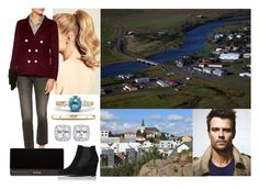 """""""Tour of Iceland: Day 3- Visiting Hella and Borgarnes with Felix"""" by dana-avots ❤ liked on Polyvore featuring Hershesons, Sandro, DIVINA, Balmain and L.K.Bennett"""