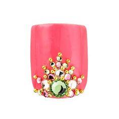 Best toes nail art you ever seen! Tip-Top-Nails Toe Nail Designs, Nail Polish Designs, Nails Design, Pedicure Nail Art, Toe Nail Art, Rhinestone Nails, Bling Nails, Get Nails, Hair And Nails