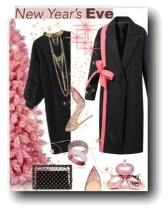 """""""New Year's Eve"""" by iraavalon ❤ liked on Polyvore featuring Charlotte Olympia, J/Hadley, Suzy Levian, Christian Louboutin and bhalo"""