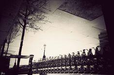 'London's Puddles', de Gavin Hammond. Londres vista desde charcos.