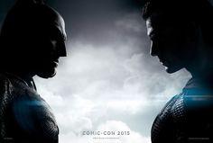 El póster especial #SDCC2015  de Batman v Superman: Dawn of Justice (USA, 2016). Me hubiera gustado que Superman si vieja a los ojos a Batman de frente. Esto nos indica que son imágenes montadas :(  y no pensadas especialmente.