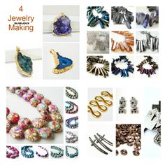 $12.50 Titanium Quartz #Spikes Crystal Rocks Drilled Briolettes Beads, #Druzy Spike Beads, Spike Beads for Jewelry Making #Diy #Jewelry #supplies #Bijibijoux https://www.etsy.com/listing/124891712/silver-titanium-quartz-spikes-crystal?ref=shop_home_active_15