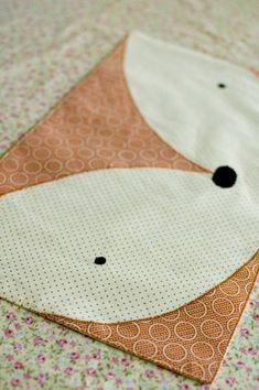 Des sets de table Renard et Panda | tutoriels de couture | Blog de Petit Citron