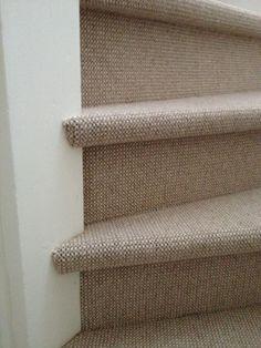 te koop bij www.cdinterieurs.nl NL Label | Waal | trapbekleding Stairway Carpet, Carpet Stairs, Indian Interior Design, Indian Interiors, Stair Railing, Stairways, New Homes, Flooring, Cottage