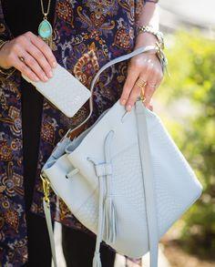 GiGi New York | My Style Diaries Blog | Harbor Blue Jenn Bucket Bag