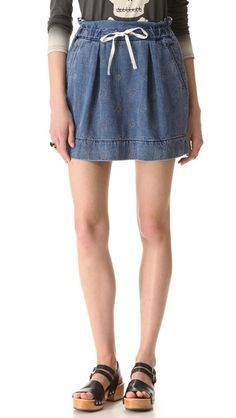 Marc by Marc Jacobs Standard Supply Paper Bag Skirt