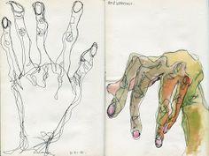 Egon Schiele- Hands (inspired drawing by Emma Lord) Life Drawing, Figure Drawing, Painting & Drawing, Drawing Tips, Kunst Inspo, Art Inspo, Gustav Klimt, Art And Illustration, Art Illustrations