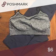 Two target gray sports bras Comfy minimal impact sports bras, lightly worn Intimates & Sleepwear Bras
