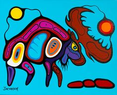 Record: Category: Painting Year Created: 2011 Media: Acrylic on canvas Dimensions: 16 x 20 Signature location: Hor. Native American Artwork, Native American Fashion, Haida Art, Inuit Art, American Modern, Indigenous Art, Native Art, Modern Art, Abstract Art