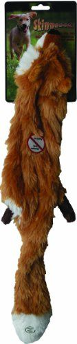 Ethical Plush Skinneeez Fox 24-Inch Stuffingless Dog Toy  check it out at www.petsuppliesonlineuk.com